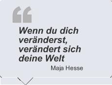 Zitat Maja Hesse